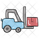 Lifter Forklifter Forklift Truck Icon
