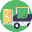 Forklift Truck Warehouse Icon