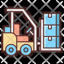 Forklift Forklifter Truck Icon