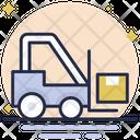 Forklift Bendi Truck Fork Truck Icon