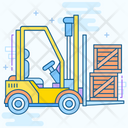 Forklift Truck Bendi Truck Warehouse Forklift Icon