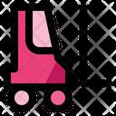 Forklift Vehicle Work Icon