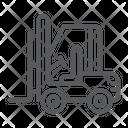 Forklift Cargo Truck Icon