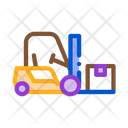 Forklift Car Warehouse Icon