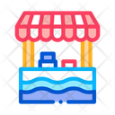Mobile Food Stall Icon