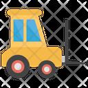 Forklift Truck Bendi Truck Fork Truck Icon