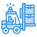 Forklift Equipment Lift Icon