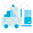 Loader Truck Delivery Icon