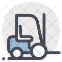 Forklift Construction Heavy Icon