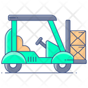 Forklift Forklift Truck Transport Forklift Icon