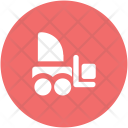 Forklift Truck Commercial Icon