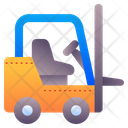 Forklift Lift Truck Icon