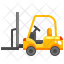 Forklift Lift Industry Icon