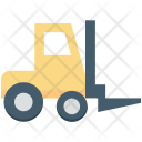 Forklift Truck Lift Icon