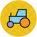 Forklift Transport Construction Icon