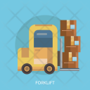 Forklift Box Package Icon