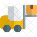 Forklift Box Up Icon
