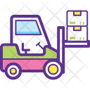 Forklift Truck Bendi Icon