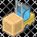 Forklift Truck Bendi Truck Loading Truck Icon