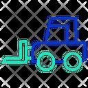 Cargo Forklift Truck Bendi Truck Icon