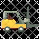 Forklift Truck Bendi Truck Warehouse Forklift Icon
