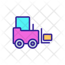 Forklift Truck Icon
