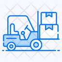 Forklift Truck Delivery Lifter Fork Lift Icon