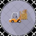 Forklift Truck Fork Truck Bendi Truck Icon