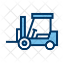 Forklift Logistic Intralogistic Icon