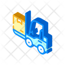 Warehouse Loader Box Icon
