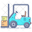 Forklift Truck Forklift Delivery Lifter Icon