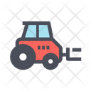 Forklift Truck Lifting Truck Forklift Icon