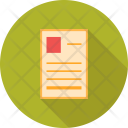 Form Biodata Data Icon