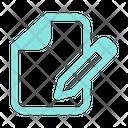 Form Write Document Icon