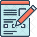Form Page Document Icon