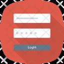 Form Login Userlogin Icon