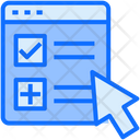 Form Web Task Icon