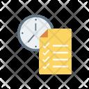 Form Deadline Document Icon