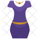 Form Fitting dress Icon