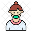 Formal Woman User Icon