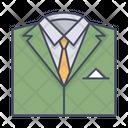 Suit Dress Business Icon