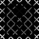 Shirt Dress Tie Icon