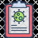 Formula Coronavirus Report Medical Report Icon