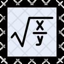 Formula Education Mathematics Icon