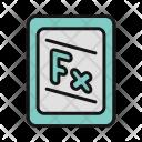 Formula Mathematics Digital Formula Icon