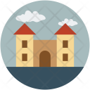 Fort Castle Building Icon