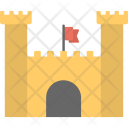 Flag Tower Castle Icon
