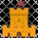 Fortress Architecture City Icon
