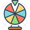 Fortune Wheel Lottery Icon
