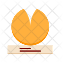 Fortune Cookie Cookie Chinese Icon